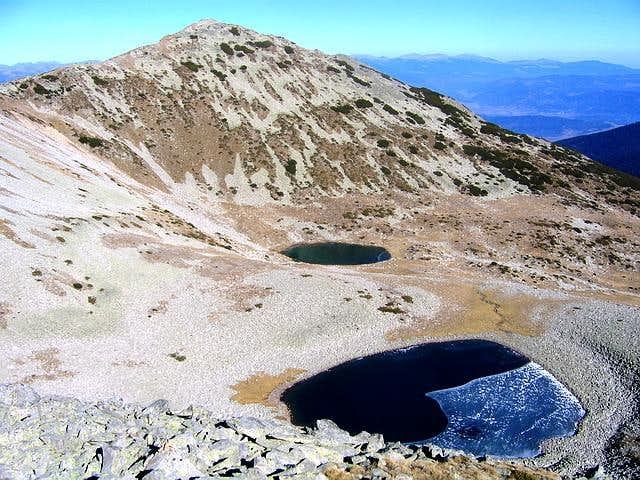 Todorin Vrh & Todorini Oci lakes