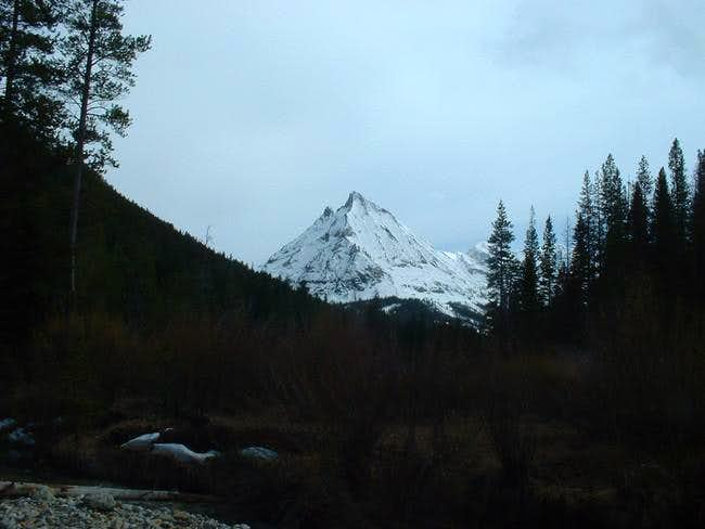 Howard Peak in the distance,...