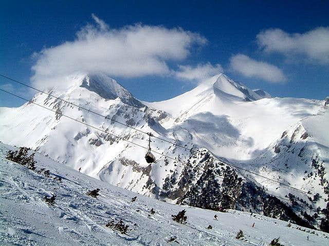 Vihren (2914 m) and Kutelo...