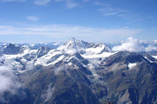 view on Weisshorn taken from...