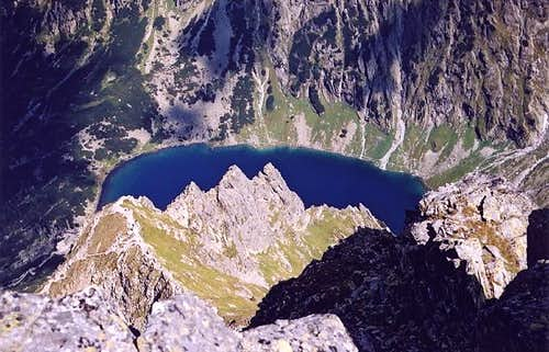 Czarny Staw (Black Lake) from...