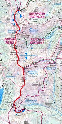 day 2 route  taken from...