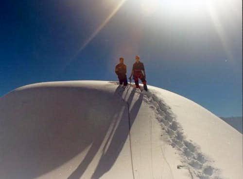 On the summit of Imja Tse...