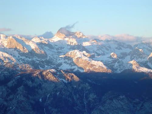 Triglav from Vogel