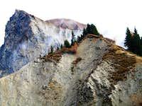 NE Ridge, the crumply NW face...