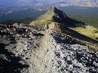 The summit ridge Nov. 2005