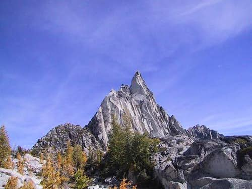 Prusik Peak on 9-28-02...