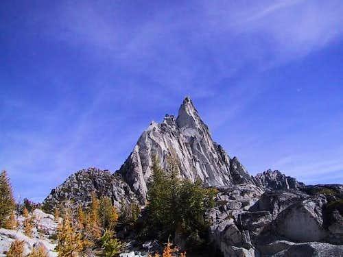 Prusik Peak on 9-28-02...