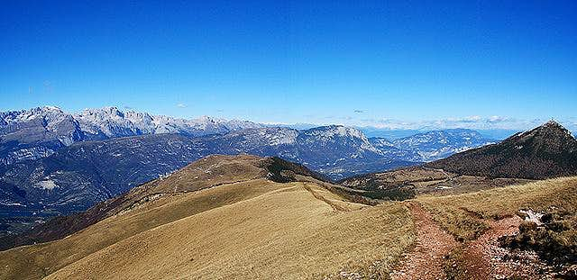 Monte Bondone: from right...