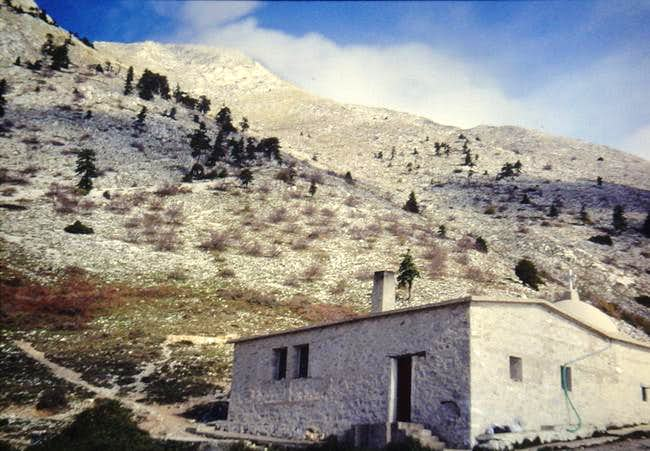 Mount Athos ~ Normal Route (south slope)