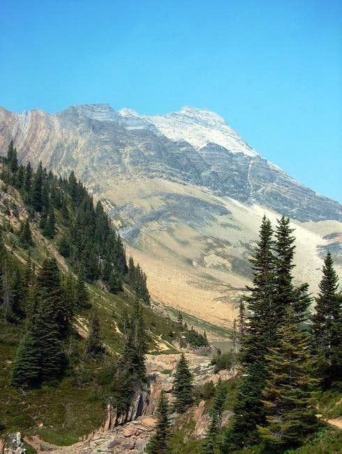 Mount Carnarvon from Hamilton...