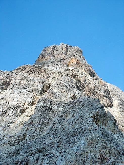 The south ridge of Mount...