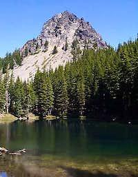 Mount Yoran from Divide Lake