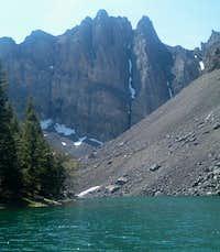 Bear Creek Lake with an...