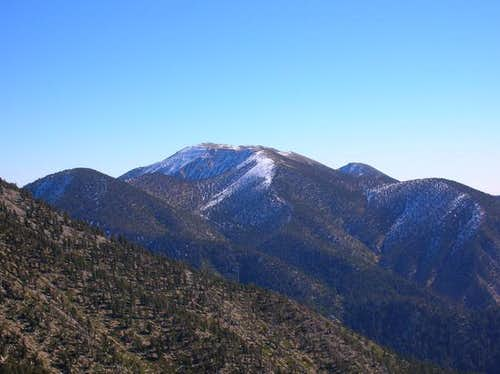 San Gorgonio as seen fron...