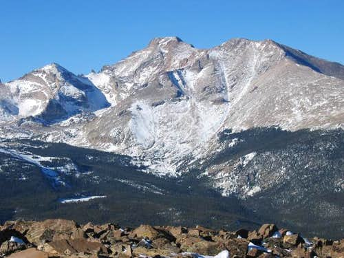 Pagoda Mountain , Longs Peak...