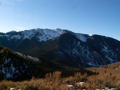 Johnstone Peak in November 05...