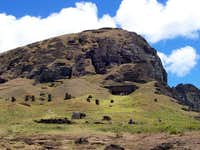 Summit of Rano Raraku from...