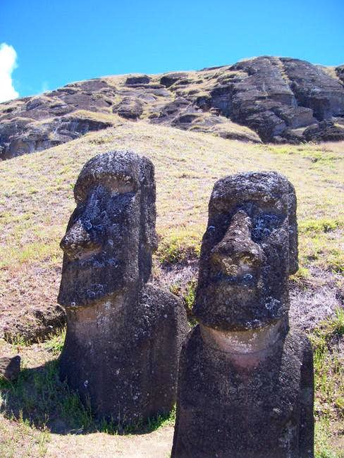 Rano Raraku from the...