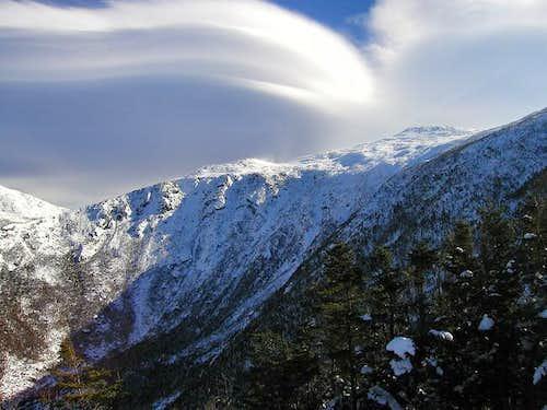 A nice lenticular cloud...