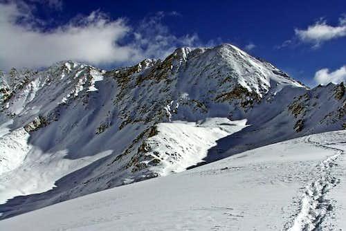 Drift Peak from Gold Hill
