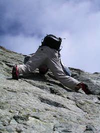 This is me climbing the most...