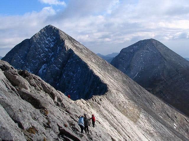 Kutelo (2908 m) and Vihren...