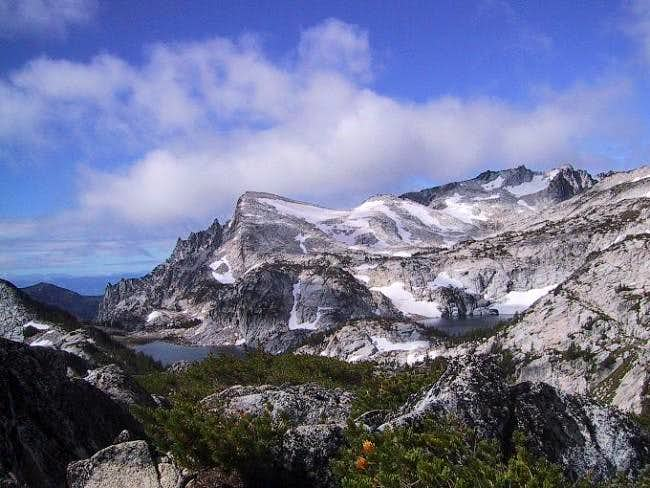 From Prussik Pass, looking...