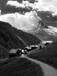 June, 2005...Matterhorn looks...