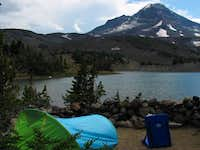 Camp Lake is one of the main...