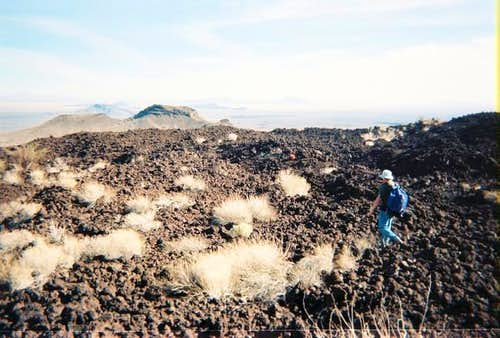 Walking across a Pinacate...