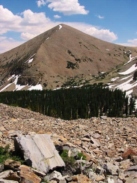 Pyramid Peak (Great Basin NP)