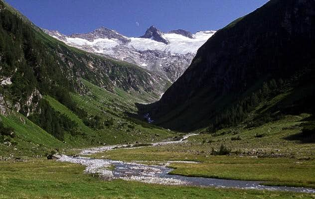 In the Habachtal valley - a...