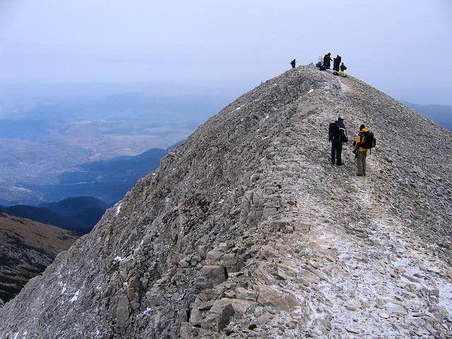 On Kutelo ridge, near Kutelo...