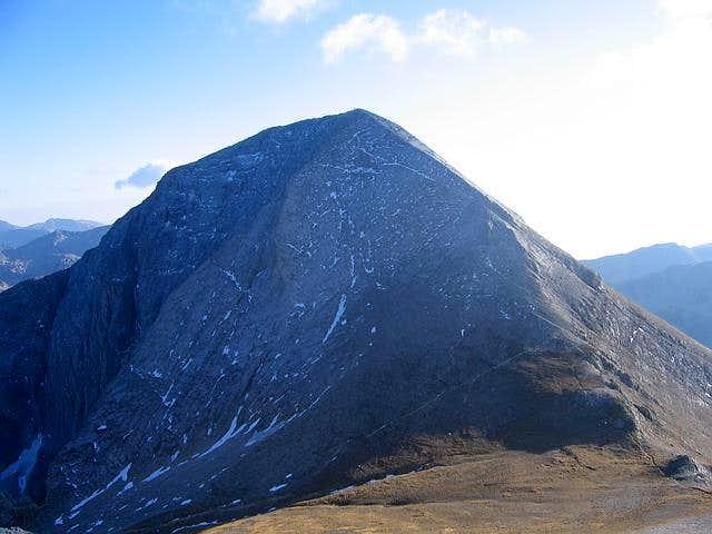 W side of Vihren (2914 m)...