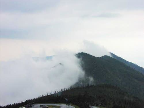 A view from Mt. Mitchell, May...