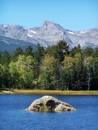 Sawtooth Mountain from Minnie...