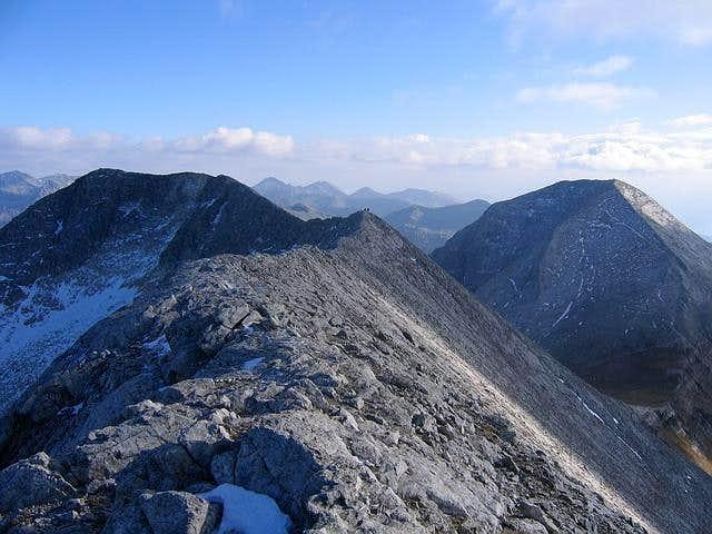 Two highest peaks of Pirin -...