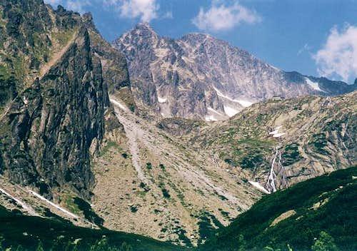 High Tatra scenery In Mala...