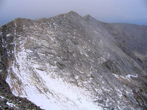 Impressive Koncheto ridge and...