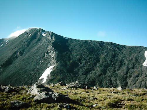 Culbra Peak seen from the...
