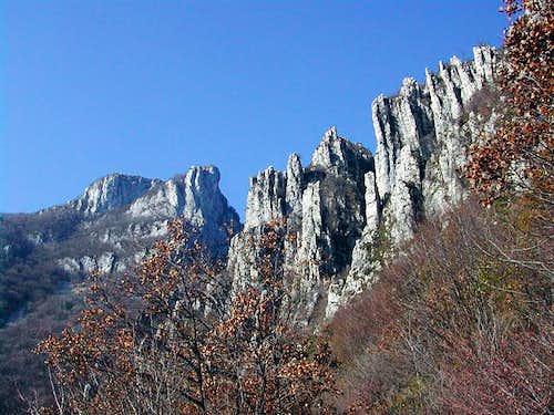 Moregallo - the pillars of...