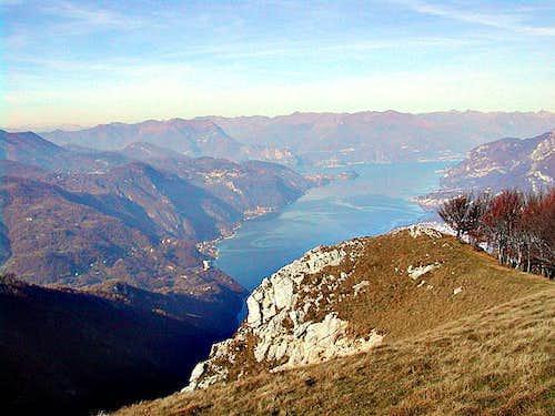 a view of the Como Lake...