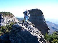 approaching MacRae Peak