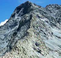 Looking at Little Bear Peak...