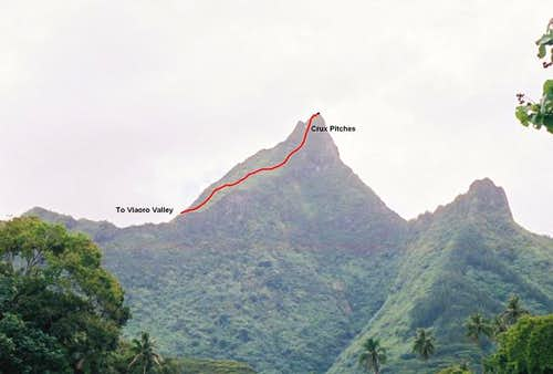 Vaioro Valley Route up...