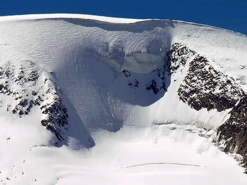 La calotta sommitale del mont...