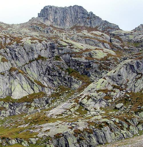The granite giant :Cimon...