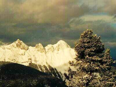 The Arnspitze as seen from...