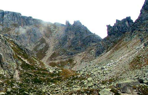 Forcella Fierollo (2246m)